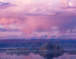 Lake Powell - Purple Sunset